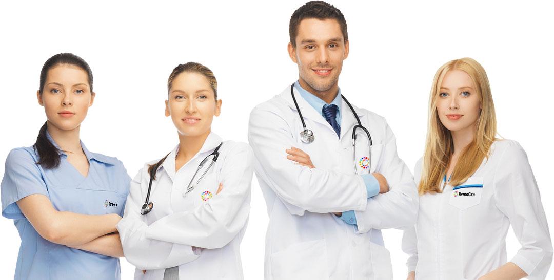 Médicos - termografia - TermoCam